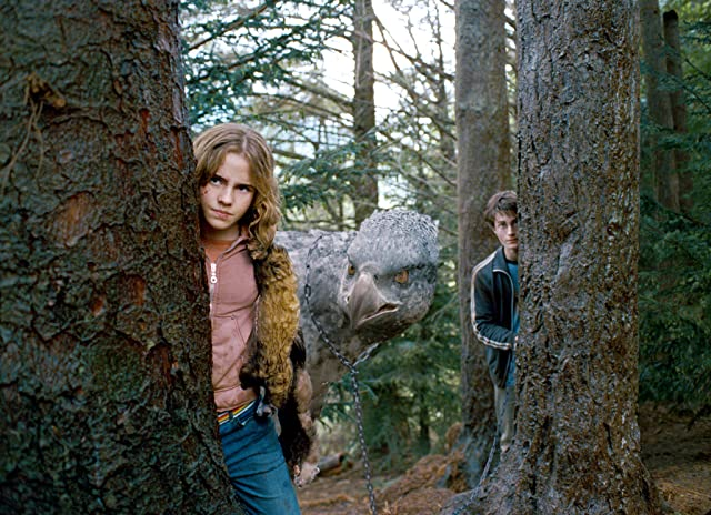 Daniel Radcliffe and Emma Watson in Harry Potter and the Prisoner of Azkaban (2004)