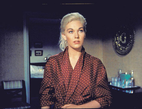 Kim Novak in Vertigo (1958)