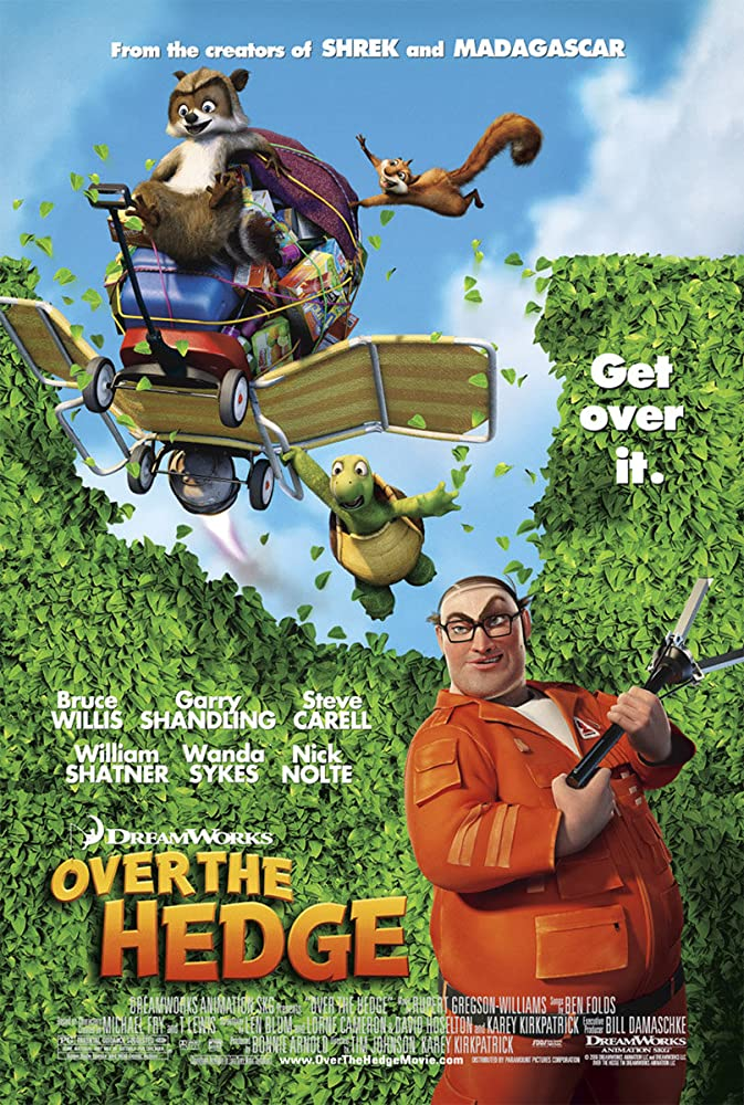 Over the Hedge (2006) Cover