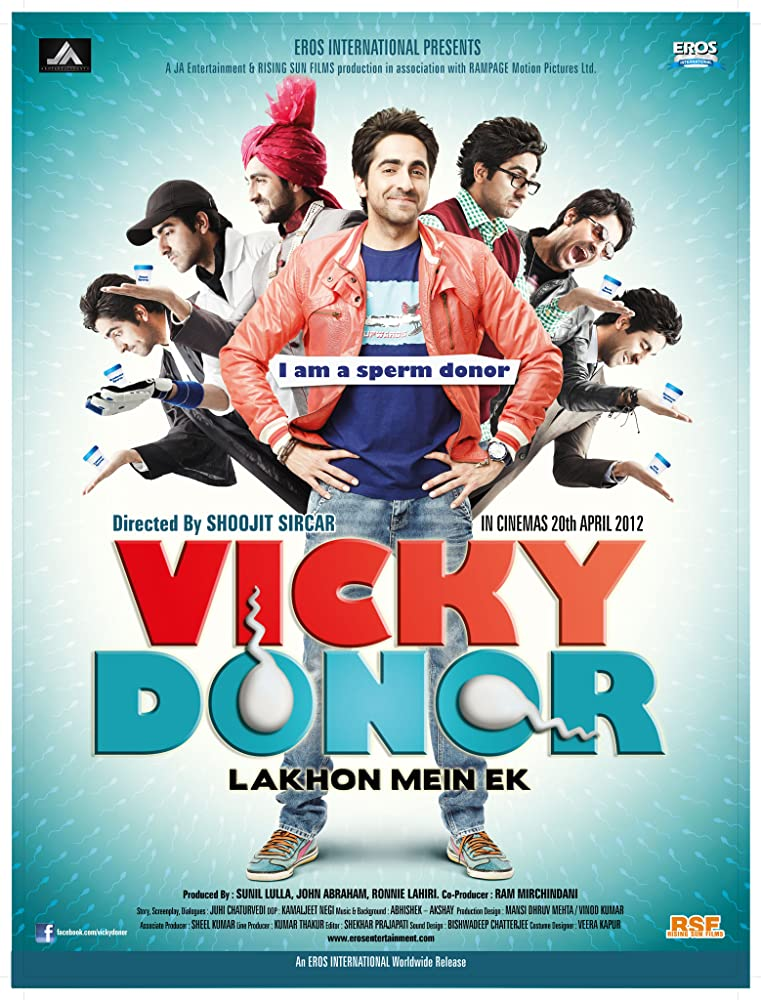 Vicky Donor 2012 Movie Watch Online Free Download HD