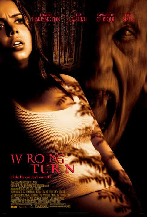 Poster Wrong Turn 2003 Full HD Movie Download Dual Audio In Hindi Free