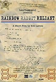 Rainbow Rabbit Reliant Poster