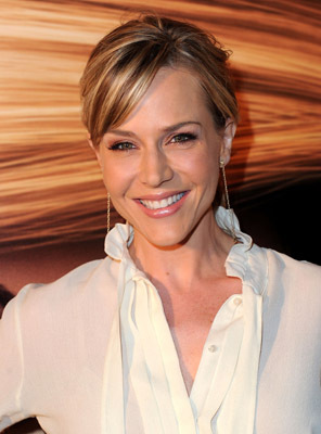 Julie Benz at an event for Tangled (2010)