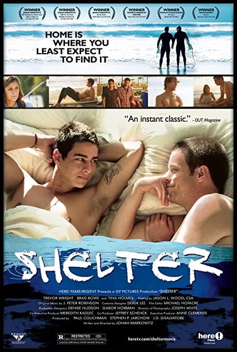 Brad Rowe and Trevor Wright in Shelter (2007)