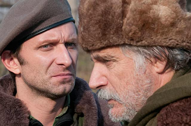 Rade Serbedzija and Goran Kostic in In the Land of Blood and Honey (2011)