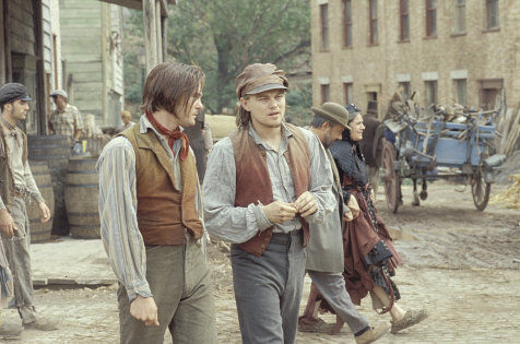 Leonardo DiCaprio and Henry Thomas in Gangs of New York (2002)