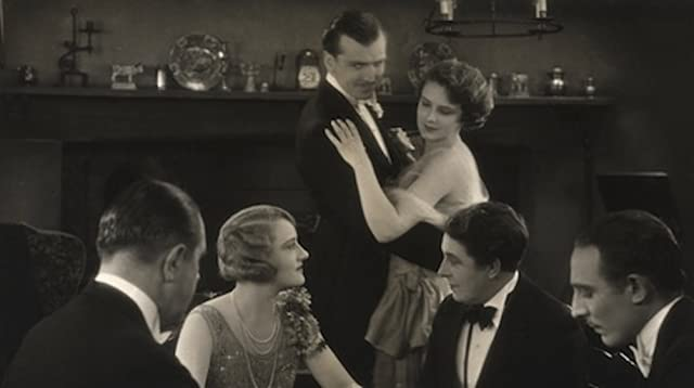 Madeleine Carroll and Miles Mander in The First Born (1928)