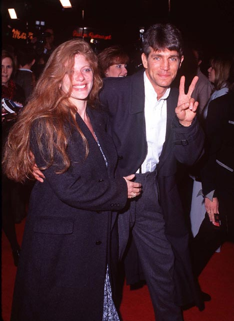 Eric Roberts and Eliza Roberts at The Birdcage (1996)