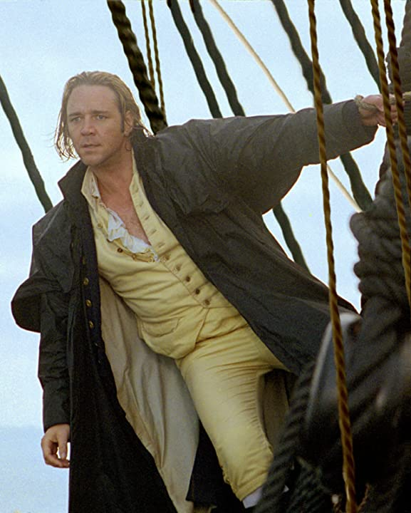 Russell Crowe in Master and Commander: The Far Side of the World (2003)