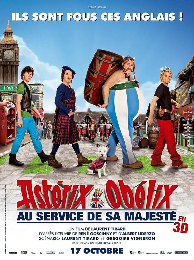 Astérix & Obélix: Au service de sa Majesté (2012) Cover