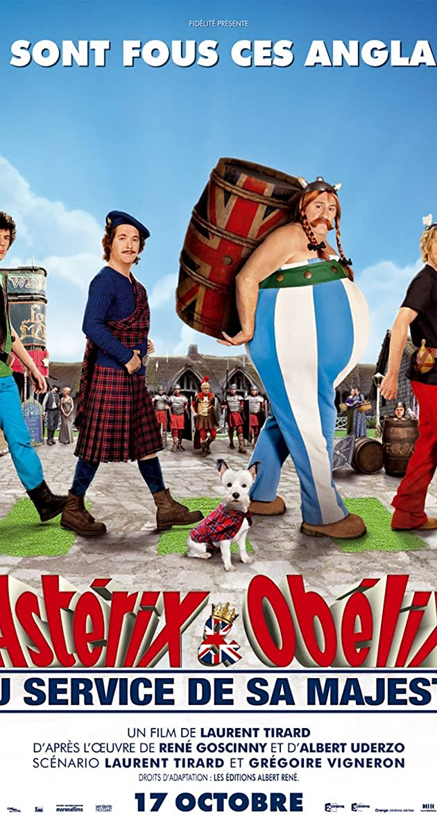 Asterix e Obelix a Servico de Sua Majestade Dublado