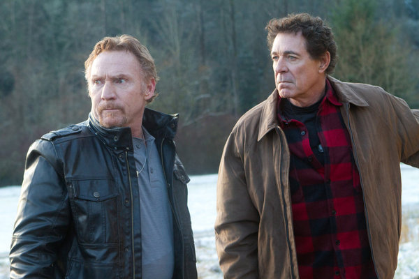 Danny Bonaduce and Barry Williams in Bigfoot (2012)