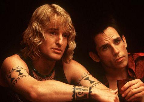 Ben Stiller and Owen Wilson in Zoolander (2001)