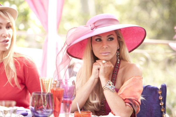 Camille Grammer and Adrienne Maloof in The Real Housewives of Beverly Hills (2010)