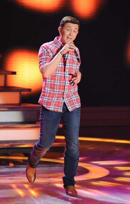 Scotty McCreery in American Idol (2002)