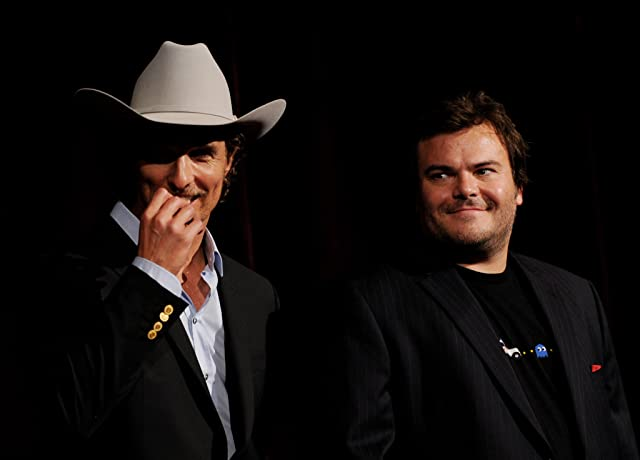 Matthew McConaughey and Jack Black at Bernie (2011)