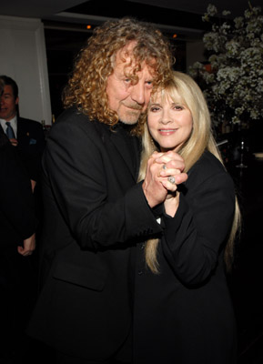 Stevie Nicks and Robert Plant