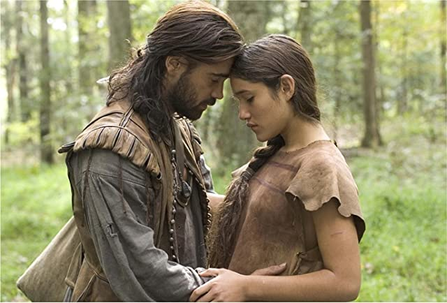 Colin Farrell and Q'orianka Kilcher in The New World (2005)
