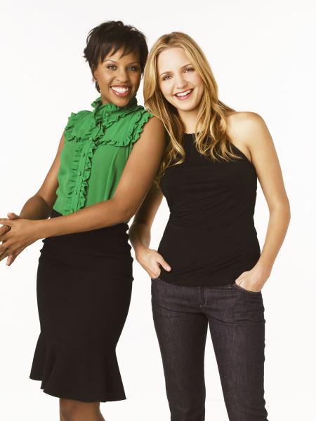 Jordana Spiro and Kellee Stewart in My Boys (2006)