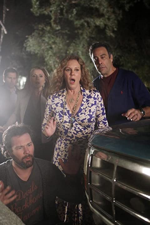 Elizabeth Perkins, Brad Garrett, Sarah Chalke, Jon Dore, and Rick Federman in How to Live with Your Parents (For the Rest of Your Life) (2013)