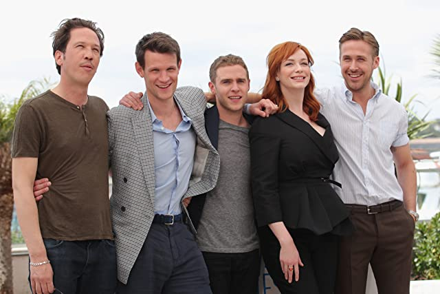Iain De Caestecker, Ryan Gosling, Christina Hendricks, Matt Smith, and Reda Kateb at Lost River (2014)