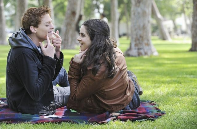 Vanessa Marano and Sean Berdy in Switched at Birth (2011)