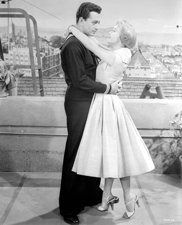 Jane Powell and Vic Damone in Hit the Deck (1955)