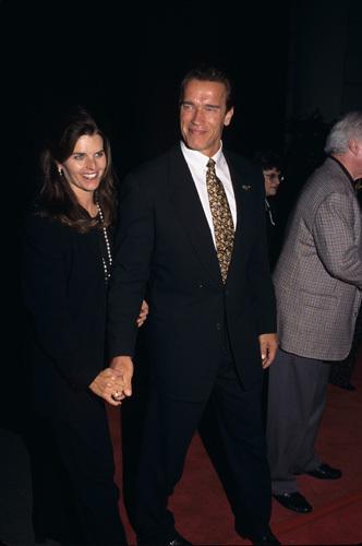 Arnold Schwarzenegger and Maria Shriver circa 1990s