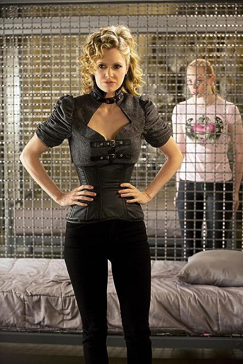 Kristin Bauer van Straten and Deborah Ann Woll in True Blood (2008)