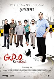 G.D.O. Kara Kedi Poster