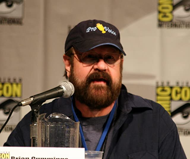Brian Cummings at the 2010 Comic-Con Cartoon Voices II panel