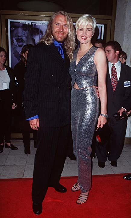 Geena Davis and Renny Harlin at The Long Kiss Goodnight (1996)