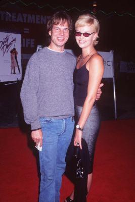 Bill Paxton and Charlize Theron at Dirty Dancing (1987)