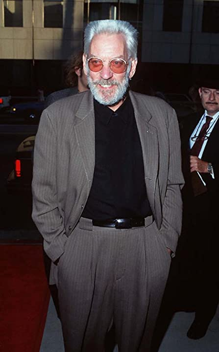 Donald Sutherland at an event for A Time to Kill (1996)