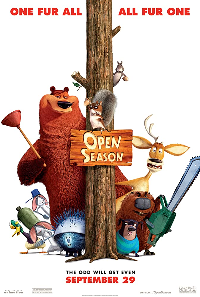 Open Season (2006)    Cover