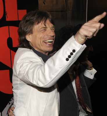 Mick Jagger at an event for Shine a Light (2008)