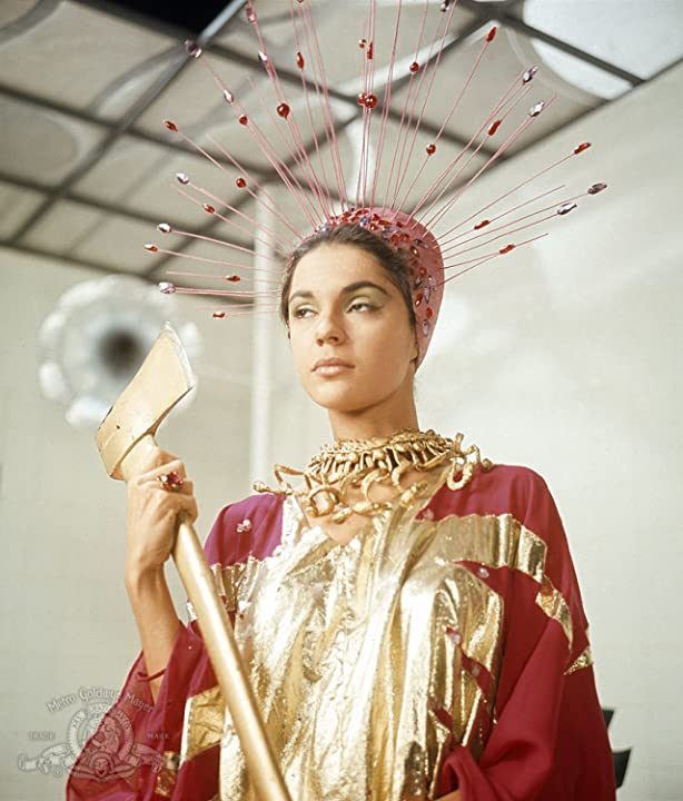 Virginia North in The Abominable Dr. Phibes (1971)