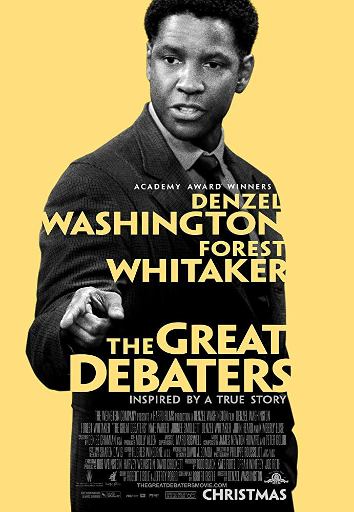 Reflective essay on the great debaters book