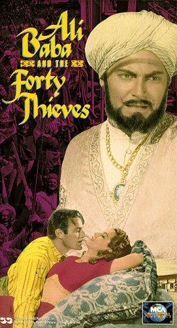 Jon Hall and Maria Montez in Ali Baba and the Forty Thieves (1944)