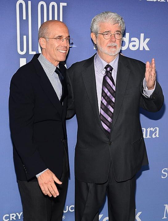 George Lucas and Jeffrey Katzenberg
