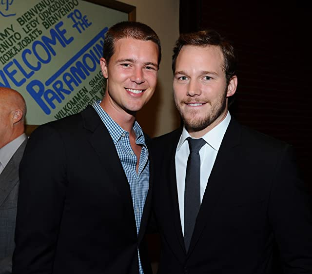 Chris Pratt and Reed Thompson at Moneyball (2011)