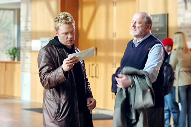 Anthony Michael Hall and David Ogden Stiers in The Dead Zone (2002)