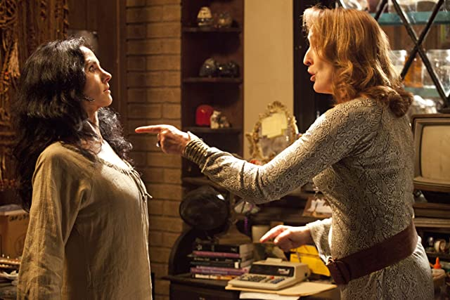 Fiona Shaw and Paola Turbay in True Blood (2008)