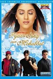 Pyaar Ishq Aur Mohabbat(2001) Poster - Movie Forum, Cast, Reviews