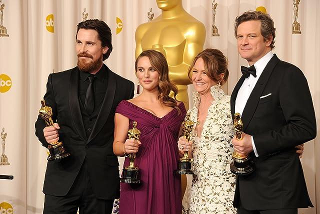 Colin Firth, Natalie Portman, Christian Bale, and Melissa Leo