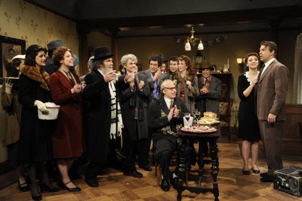 Fred Armisen, Taran Killam, Jason Sudeikis, Kristen Wiig, Andy Samberg, Nasim Pedrad, Abby Elliott, and Vanessa Bayer in Saturday Night Live (1975)