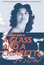 Image of A Cigarette and a Glass