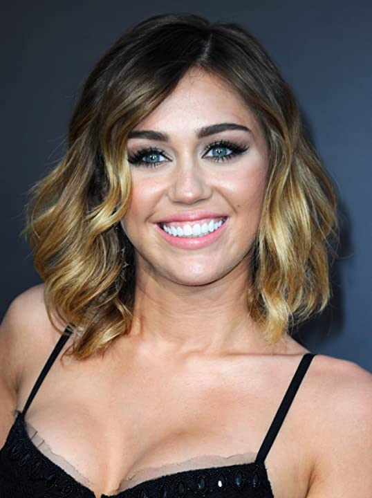Miley Cyrus at The Hunger Games (2012)
