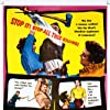 Ben Cooper, J. Carrol Naish, John Payne, Ruth Roman, and John Smith in Rebel in Town (1956)
