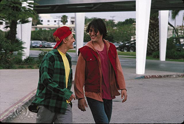 Keanu Reeves and Alex Winter in Bill & Ted's Bogus Journey (1991)
